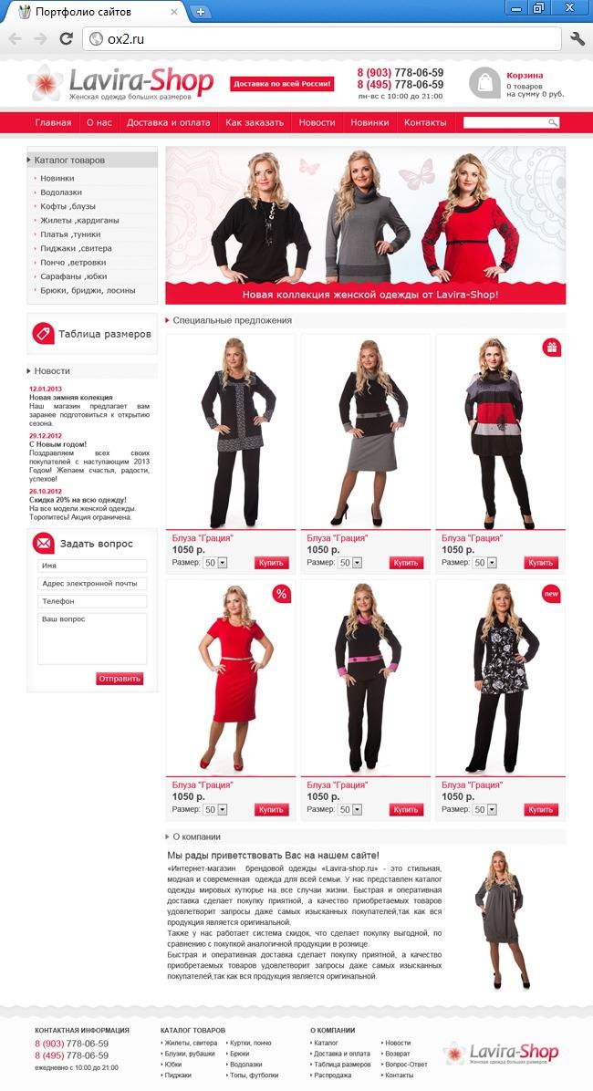 Женская Одежда В Кредит